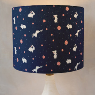 Bunny Hop Self-Launch Drum Lampshades