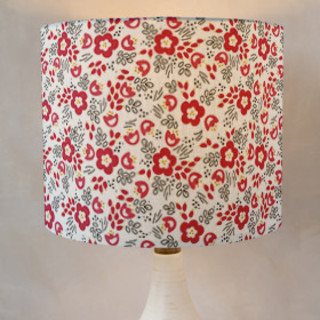 Picking Poppies Self-Launch Drum Lampshades