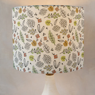 Forest Walk Self-Launch Drum Lampshades