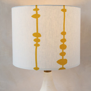 Rhythmic Self-Launch Drum Lampshades