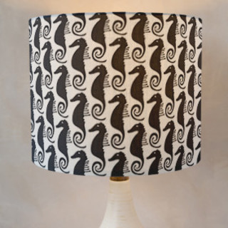 Sea Horse Self-Launch Drum Lampshades