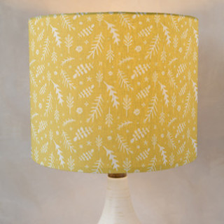 Tidy Florals Self-Launch Drum Lampshades