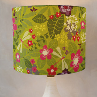 Tropical Fusion Self-Launch Drum Lampshades