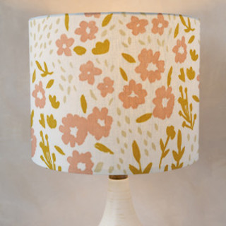 Emma Floral Self-Launch Drum Lampshades