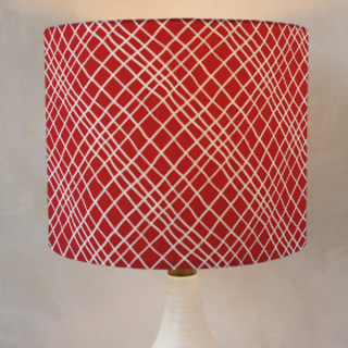 Hand Drawn Hatch Self-Launch Drum Lampshades