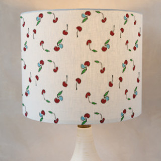 Cherries Self-Launch Drum Lampshades
