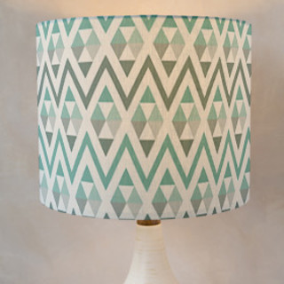 Tribal Triangle Self-Launch Drum Lampshades