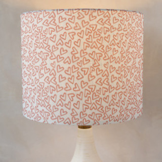 first crush Self-Launch Drum Lampshades