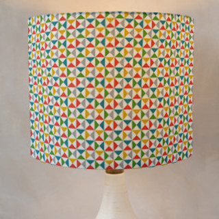 Color Angles Self-Launch Drum Lampshades