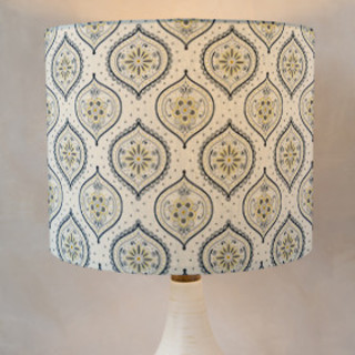Shapely Florals Self-Launch Drum Lampshades