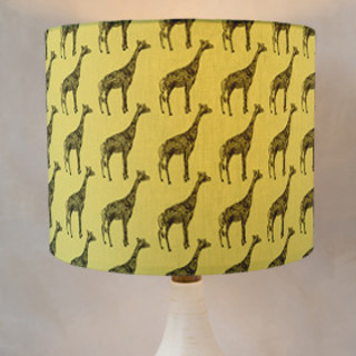 Designer Giraffe  Self-Launch Drum Lampshades