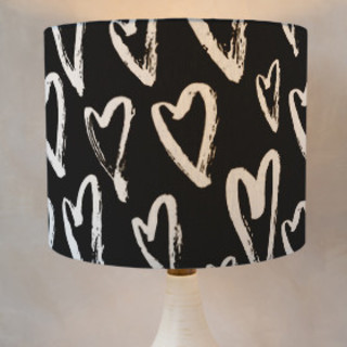 Full of Hearts Self-Launch Drum Lampshades