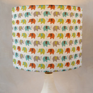 sweet elephants Self-Launch Drum Lampshades