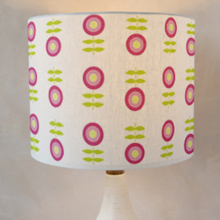 raindrops on roses Self-Launch Drum Lampshades