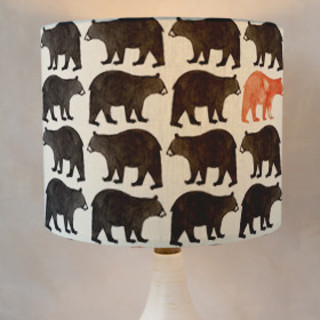 Bold Bears Self-Launch Drum Lampshades