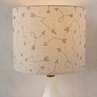 Stray Arrows Self-Launch Drum Lampshades