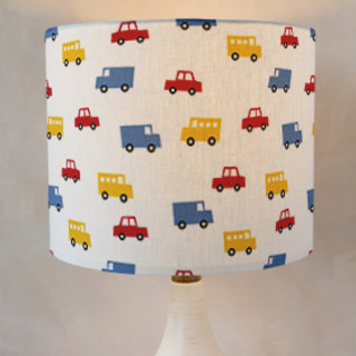 Boys Toys Self-Launch Drum Lampshades