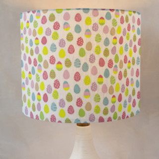 Easter Egg Hunt Self-Launch Drum Lampshades