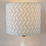 White As A Feather Drum Lampshades