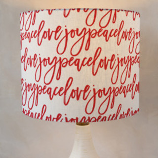 Season Wishes Self-Launch Drum Lampshades