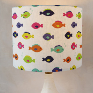 Plenty of Fish in the Sea Self-Launch Drum Lampshades