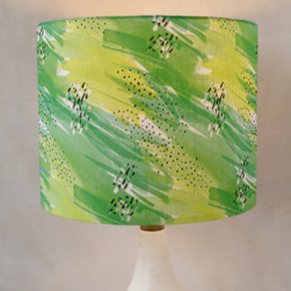 Tropical Showers Self-Launch Drum Lampshades