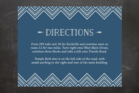 Sharp Mitzvah Direction Cards