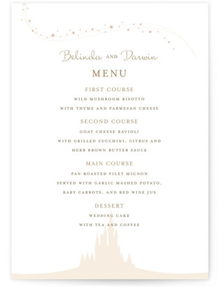 Enchanted Stars Menu