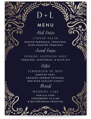 Wedding Enchantment Menu