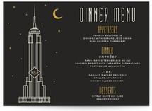 Empire Menu Cards