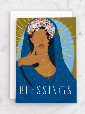 Blessed The Met Holiday Greeting Cards