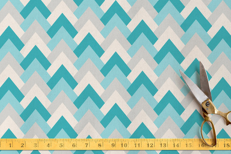 Deco Chevron Fabric