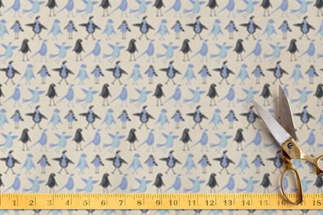 Junior Birds Fabric