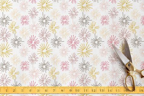 dandelion fluff Fabric