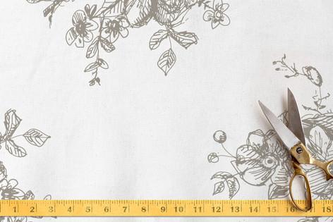 Ellegance Illustrated Toile Fabric