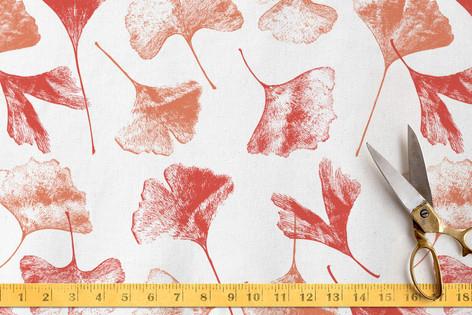 Gingko Floral Fabric