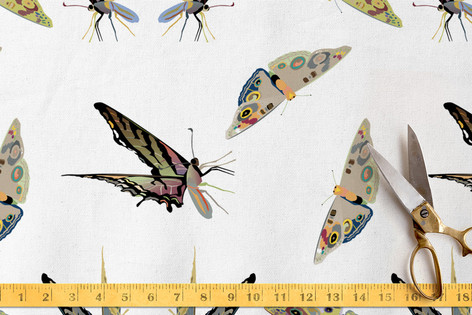 Butterflies are Free Fabric