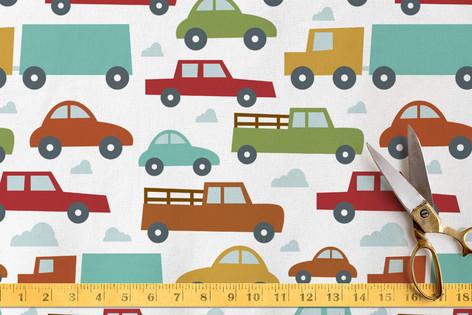 Rush Hour Fabric