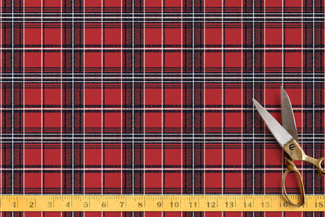 Playful Plaid Fabric