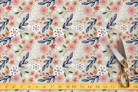 Wildflower Crest Fabric