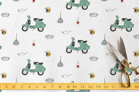 Vespa Kit Fabric
