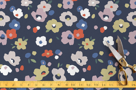 Scattered Posies Fabric