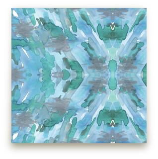 Kaleidoscope Reef Self-Launch Fabric