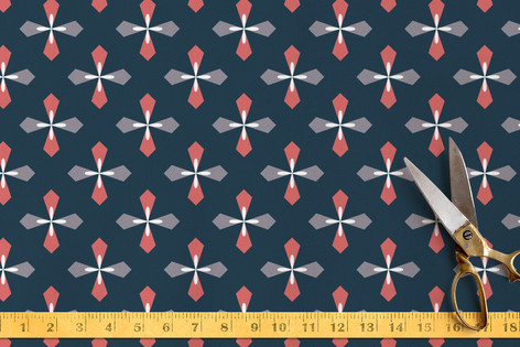 Diamond Retro Fabric