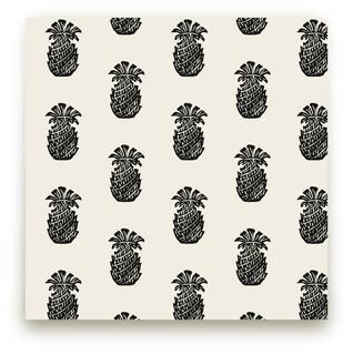 Block Print Pineapple Self-Launch Fabric