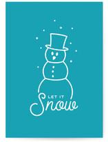 Snowy Little Lines