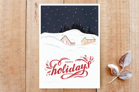 Peaceful Holidays Cards