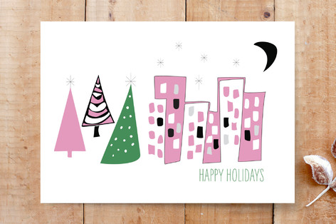 mid century modern holiday card cards - Modern Holiday Cards