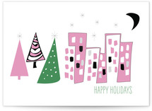 Mid-Century Modern Holiday Card