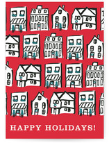 merry houses by Emily Bremner Forbes